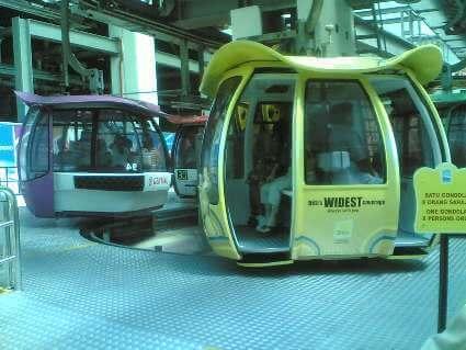 تلفريك جنتنج هايلاند cable cars genting highlands