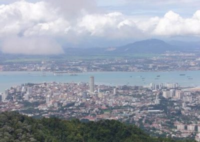 هضبة جزيرة بينانج في ماليزيا